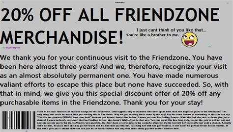 09008 Happy Endings Coupon Code by Friendzone Coupon