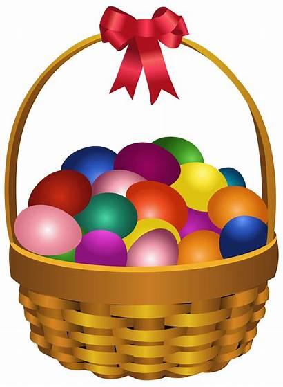 Easter Egg Eggs Transparent Clipart Clip Basket