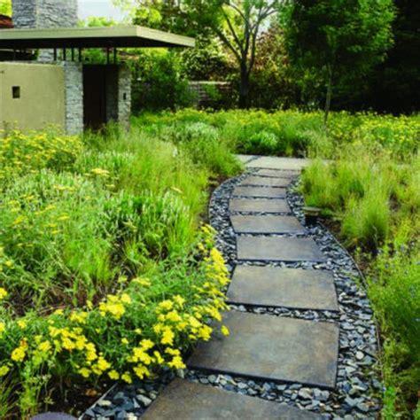 yard landscaping ideas curvy garden path designs  feng shui homes