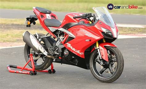 Review Tvs Apache Rr 310 by Tvs Apache Rr 310 Track Review Ndtv Carandbike