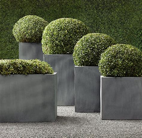 Square Outdoor Planters by 25 Best Square Planters Ideas On Planter