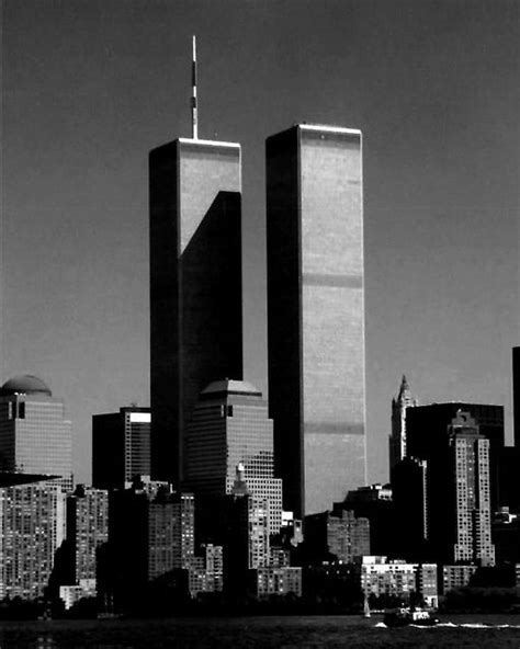 Twin Towers in black & white | photography | 911 never