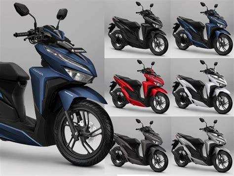 Honda Vario 150 2019 by Motor Honda Vario 150 2019 Punya 2 Warna Terbaru Harganya