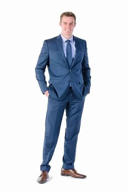 Businessman Business Suit Clipart Transparent Standing Pngmart
