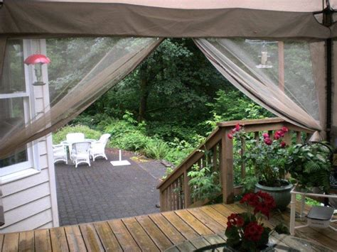 screen tents for decks screen in your deck easily inexpensively