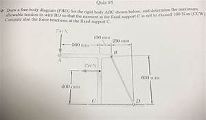 Solved  Quiz  5   Draw A Free