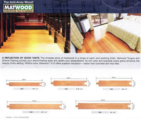 Hardwood Flooring; Tongue & Groove Wood Flooring Philippines