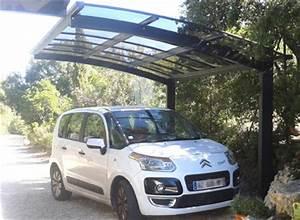 Carport Camping Car Alu : r alisation client avec un abri voiture en aluminium et ~ Dailycaller-alerts.com Idées de Décoration
