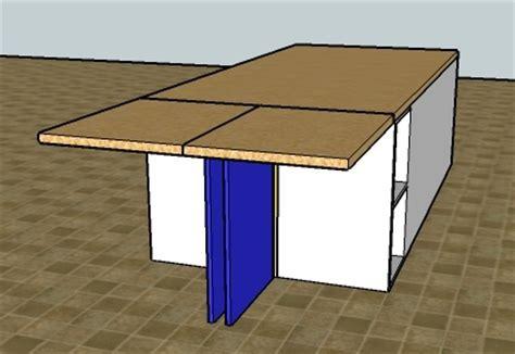 rallonge plan de travail cuisine articulation plan de travail forum décoration mobilier