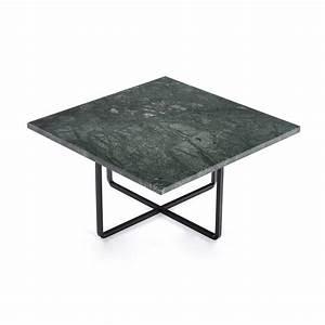 Table Marbre Noir : table basse ninety 60x60 x 30 cm marbre vert noir dennis marquart ox denmarq ~ Teatrodelosmanantiales.com Idées de Décoration