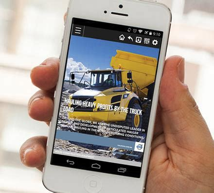 volvo construction equipment launches mobile app  north