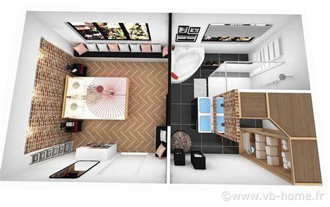 chambre parentale avec dressing et salle de bain chambre avec salle de bain colocation grande chambre avec