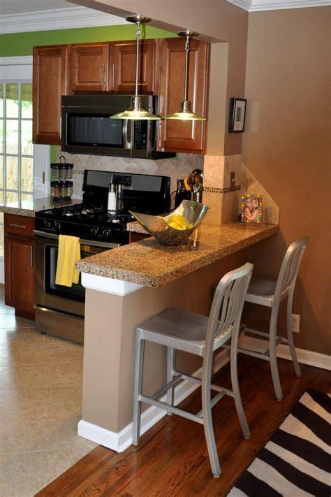 Kitchen Breakfast Bar by Small Breakfast Bar Idea For Tiny Kitchen Breakfast Bar