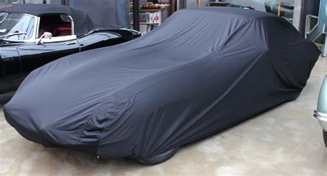 Car-cover Satin Black Für Jaguar E-type