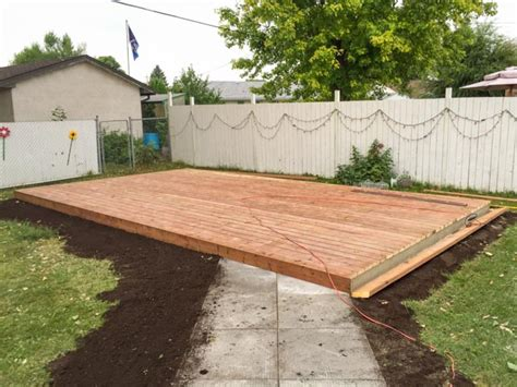 Decking Drainage by Used Patio Block Re Installation And New Ground Level Deck