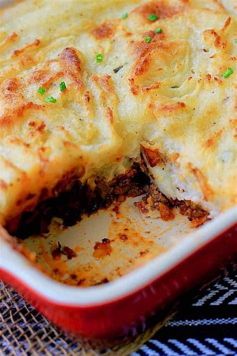 shepherds pie traditional english recipe  flavors
