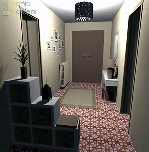 idee amenagement hall d entree 4 projet client With porte d entrée pvc avec peinture anti humidité salle de bain