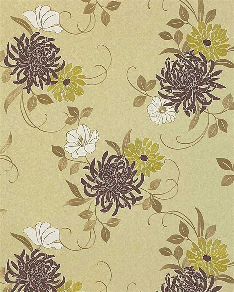 Download Green And Brown Floral Wallpaper Gallery