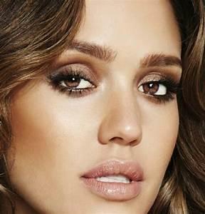 Maquillage Soirée Yeux Marrons : maquillage simple et rapide yeux marrons ~ Melissatoandfro.com Idées de Décoration