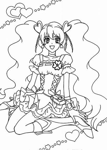 Coloring Anime Pages Manga Nagisa Printable Getcolorings