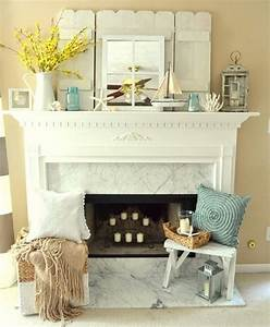 10 fireplace mantel decor ideas furniture home ideas With fireplace mantel decor ideas home