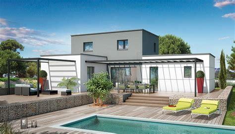 Toiture Maison En L by Plan Maison Toit Plat Orchid 233 E Maison Contemporaine