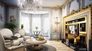 Interior Design, Royal Classic Living Room: Beautiful ...