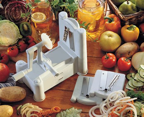 paderno cuisine spiral vegetable slicer paderno spiral vegetable slicer cuisine vegetable