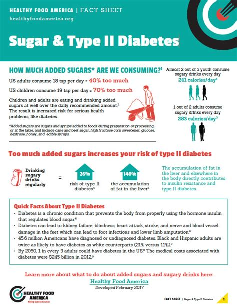 the facts sugar and chronic disease four new tools to help you communicate the risks