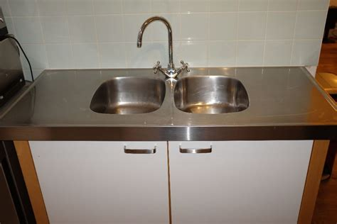 ikea stainless steel sink ikea varde freestanding kitchen sink unit with double