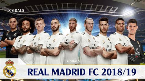 real madrid squad 2018 19 all players real madrid team