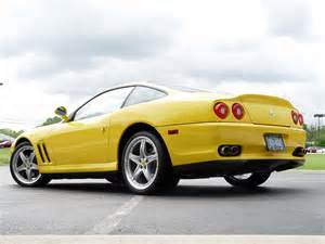 Yellow Ferrari 575 Maranello