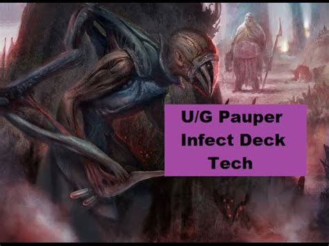 pauper u g infect deck tech youtube