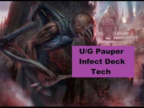 mtg infect deck pauper pauper u g infect deck tech