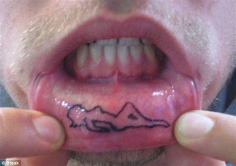 Inner Lip Inking Craze Sees Fans Get Tattoos Etched Inside