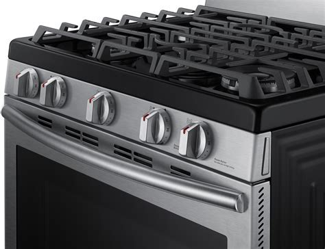 Samsung Stainless Freestanding Gas Range   NX58J7750SS/AA