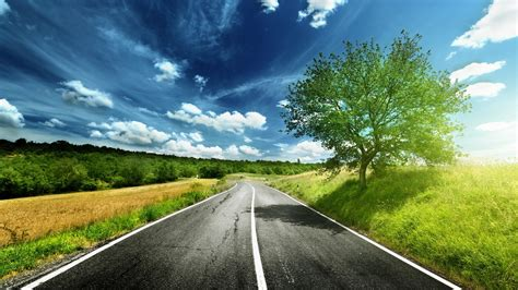 landscape road wallpapers hd desktop  mobile backgrounds