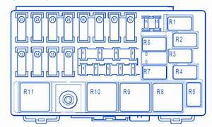 Renault Vel Satis In Engine Compartment Fuse Box    Block