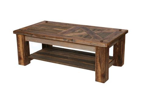 Barn Door Coffee Table Rustic Coffee Table Reclaimed Wood