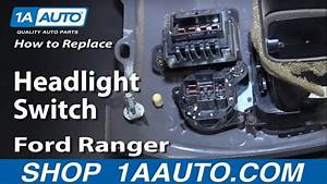 How To Install Replace Headlight Switch 1995