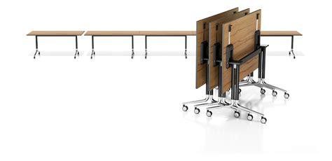 table de r 233 union pliante 224 roulettes temo fliptop by casala design kressel schelle design