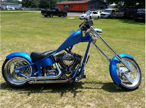 Harley Davidson Chopper Motorcycles For Sale