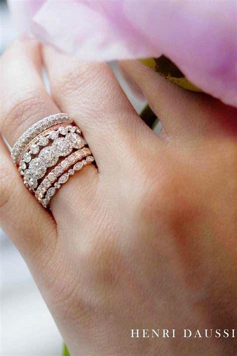 stackable wedding rings set  rings  shine