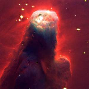 Hubble The Cone Nebula 65cm x 65cm High Quality Canvas ...
