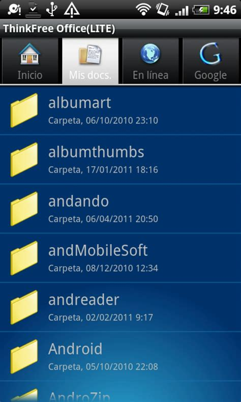 ThinkFree Office Mobile Viewer para Android - Descargar