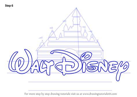 learn   draw walt disney logo brand logos step