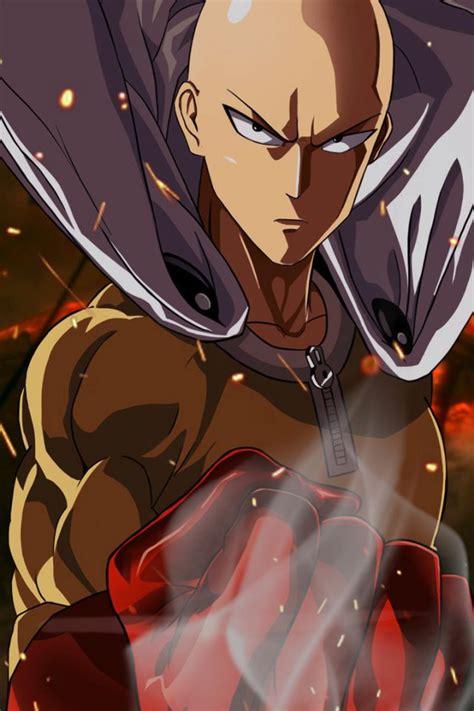 saitama wallpaper  mobile anime  punch man