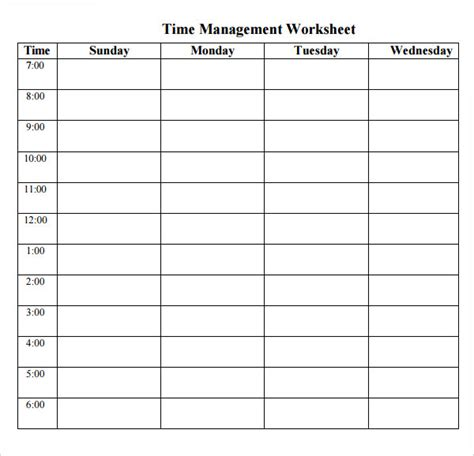 time management planner templates free 10 best images of printable time management log time management log printable time management