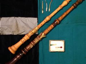 Set Of Baroque Oboes Hautboy Oboe Damore Made From Boxwood ...