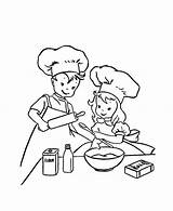Baking Coloring Pages Cookies Learn Bake Colour Tocolor Printable Cook Getdrawings Place Getcolorings sketch template